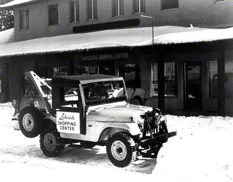 1954 Jeep CJ-5 Refrigerator Magnet