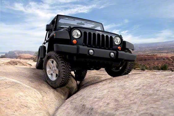 2007 Jeep Wrangler JK Moab's Golden Crack Refrigerator Magnet