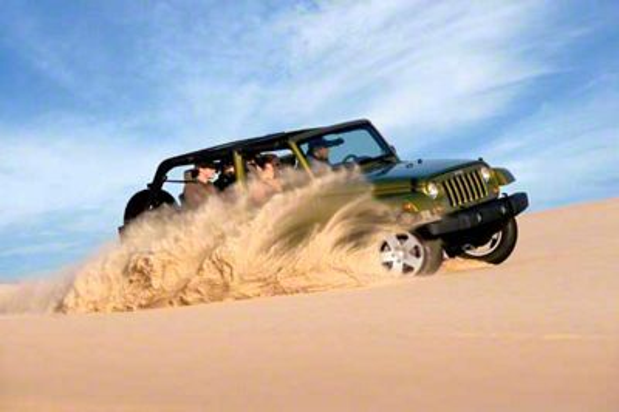 2007 Jeep JK Wrangler Dunes Refrigerator Magnet
