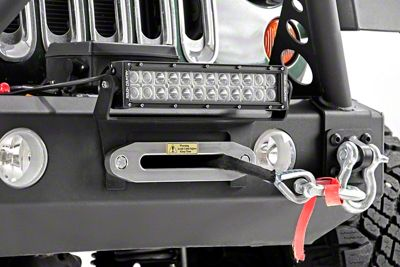 Rough Country 12 in. LED Light Bar Hawse Fairlead Mount
