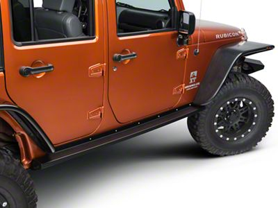 Teraflex RockGuard Rock Slider Steps (07-18 Jeep Wrangler JK 4 Door)