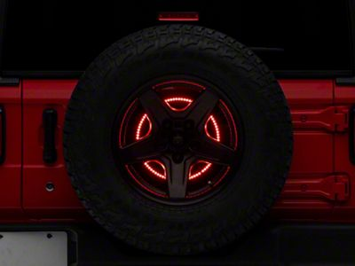 Rugged Ridge Spare Tire Brake Light LED Ring (18-19 Jeep Wrangler JL)