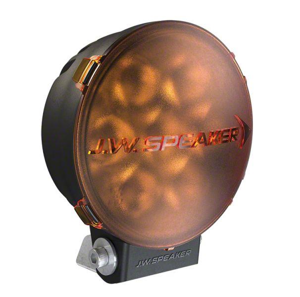 J.W. Speaker 6 in. Model TS3001R Round LED Light Lens Cover - Amber