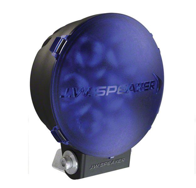 J.W. Speaker 6 in. Model TS3001R Round LED Light Lens Cover - Blue