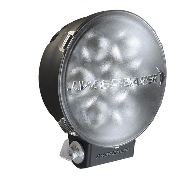 J.W. Speaker 6 in. Model TS3001R Round LED Light Lens Cover - Clear