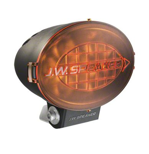 J.W. Speaker 7.5 in. Model TS3001V Oval LED Light Lens Cover - Amber