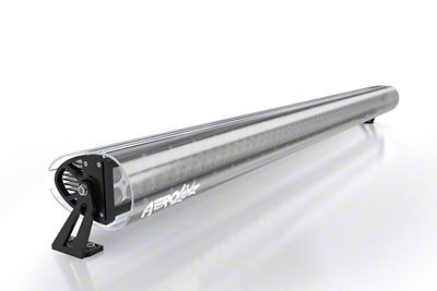 AeroX 30-32 in. Dual Row Straight LED Light Bar Silencer Cover - Smoked