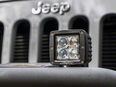 Havoc Offroad Trail Series LED Cube Lights - Spot Beam