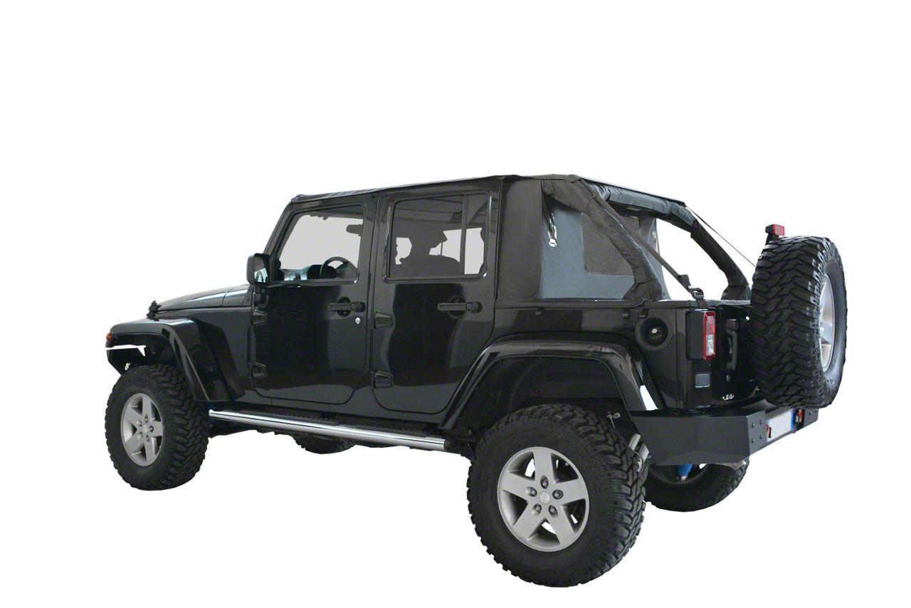 Suntop Cargo Top - Black Diamond (07-18 Jeep Wrangler JK 4 Door)