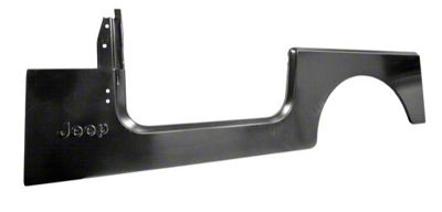 Omix-ADA Replacement Side Panel w/ Jeep Logo - Driver Side (87-95 Jeep Wrangler YJ)