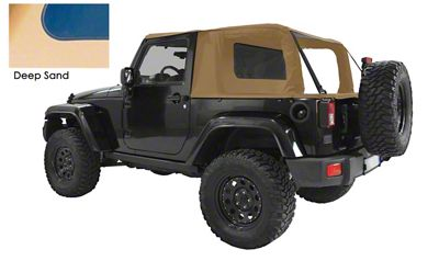 Suntop Cargo Top - Deep Sand (07-18 Jeep Wrangler JK 2 Door)