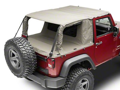 Suntop Cargo Top - Military Green (07-18 Jeep Wrangler JK 2 Door)