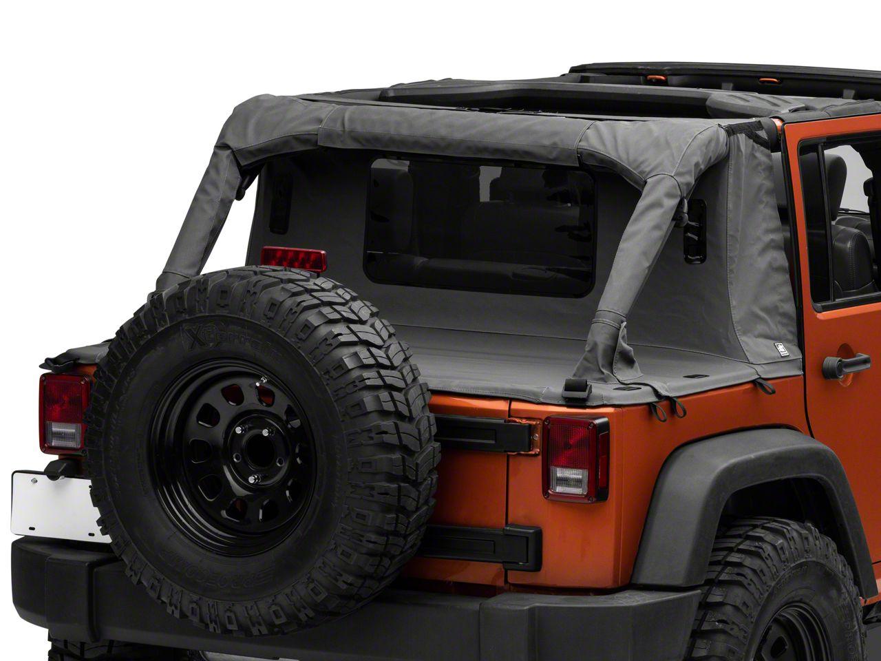 Suntop Cargo Top - Military Green (07-18 Jeep Wrangler JK 4 Door)