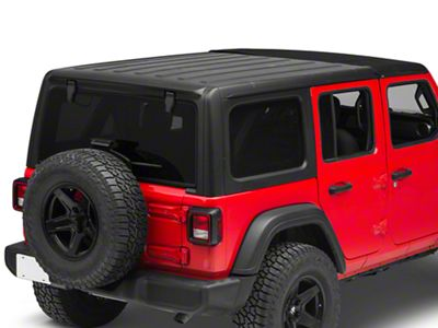 Bestop Sunrider for Factory Hard Tops - Black Twill (18-19 Jeep Wrangler JL)