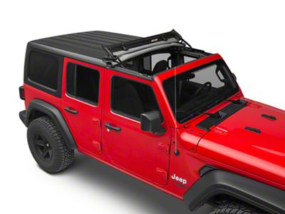 Bestop Sunrider for Factory Hard Tops - Black Diamond (18-19 Jeep Wrangler JL)