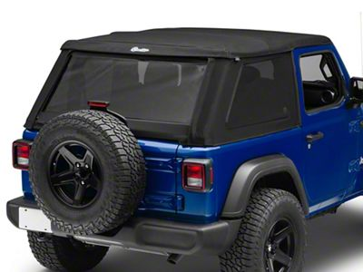 Bestop Trektop NX Soft Top - Black Twill (18-19 Jeep Wrangler JL 2 Door)