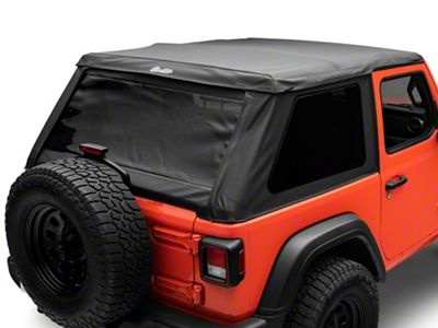 Bestop Trektop NX Soft Top - Black Diamond (18-19 Jeep Wrangler JL 2 Door)
