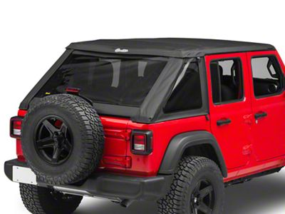 Bestop Trektop NX Soft Top - Black Diamond (18-19 Jeep Wrangler JL 4 Door)