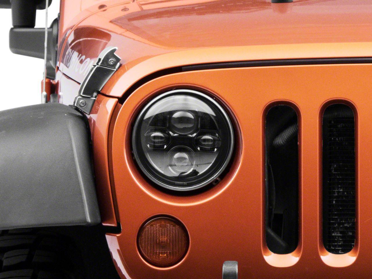 Morimoto Projector LED Headlights w/ Switchback DRL (07-18 Jeep Wrangler JK)