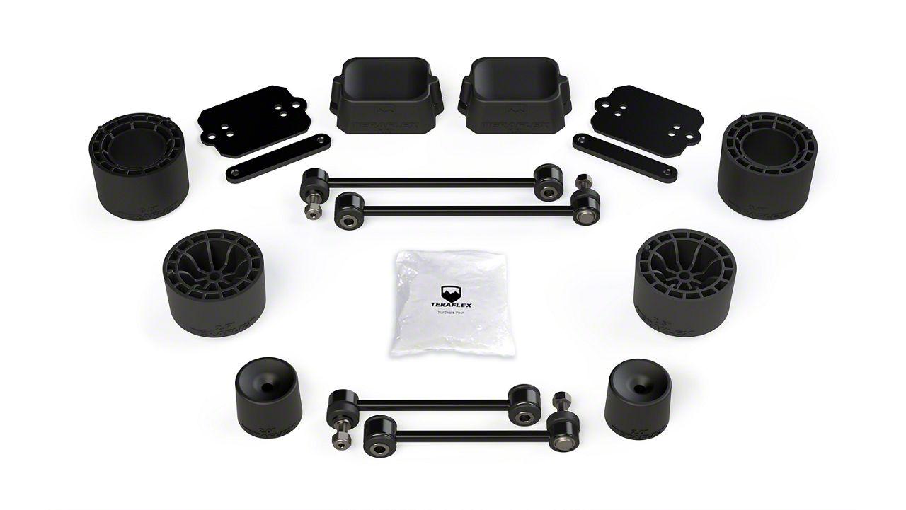 Teraflex 2.5 in. Performance Spacer Lift Kit (18-19 Jeep Wrangler JL Rubicon 4 Door)