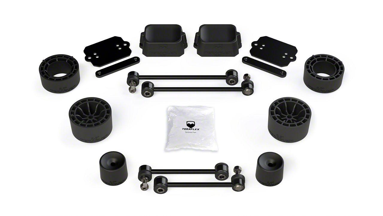 Teraflex 2.5 in. Performance Spacer Lift Kit (18-19 Jeep Wrangler JL Rubicon 2 Door)
