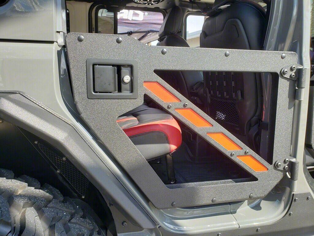 Rear Trail Doors (07-18 Jeep Wrangler JK 4 Door)