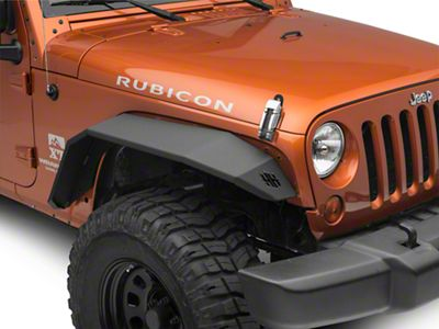 Replacement Front Wide Flares (07-18 Jeep Wrangler JK)