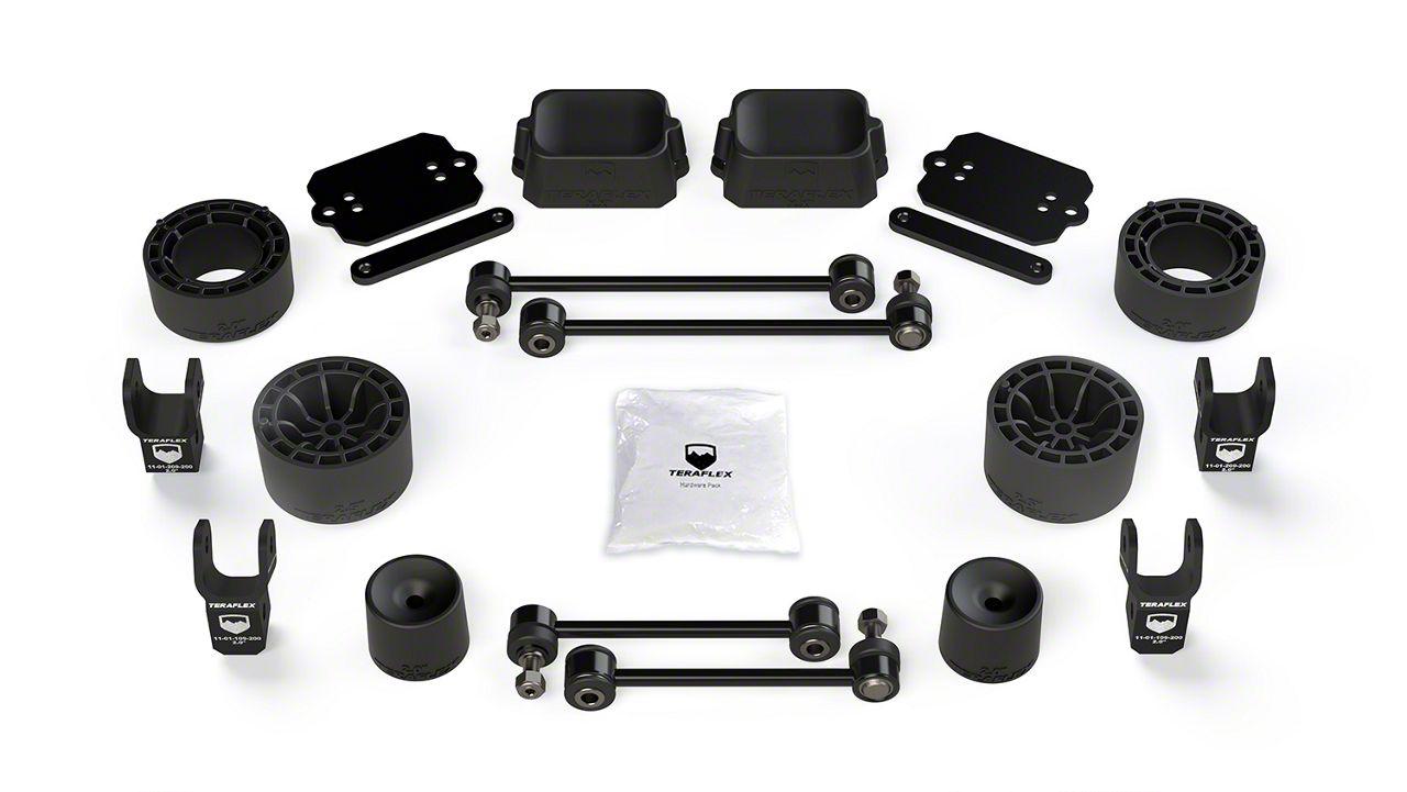 Teraflex 2.5 in. Performance Spacer Lift Kit w/ Shock Extensions (18-19 Jeep Wrangler JL Rubicon 2 Door)