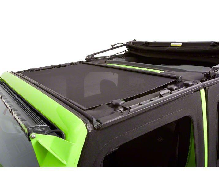 Bestop Retractable Sunshade for Hard Tops (18-19 Jeep Wrangler JL)
