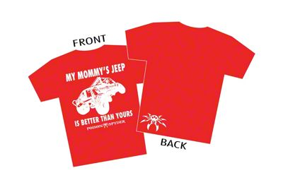Poison Spyder Toddler My Mommy's Jeep T-Shirt