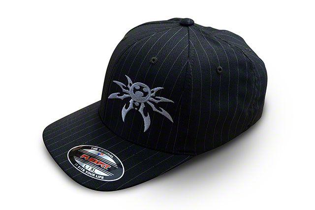 Poison Spyder FlexFit Hat - Pinstripes