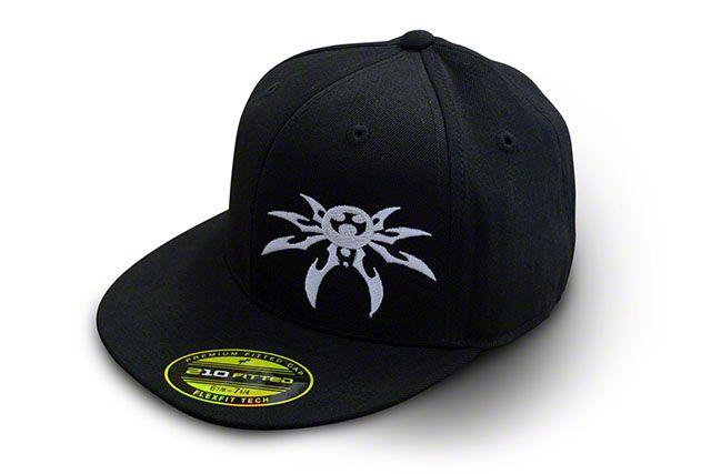 Poison Spyder FlexFit Flatbill Hat - Black