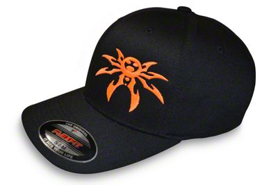 Poison Spyder FlexFit Hat - Black & Orange