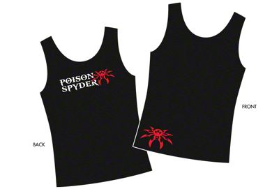 Poison Spyder Women's Logo Tank Top - Black