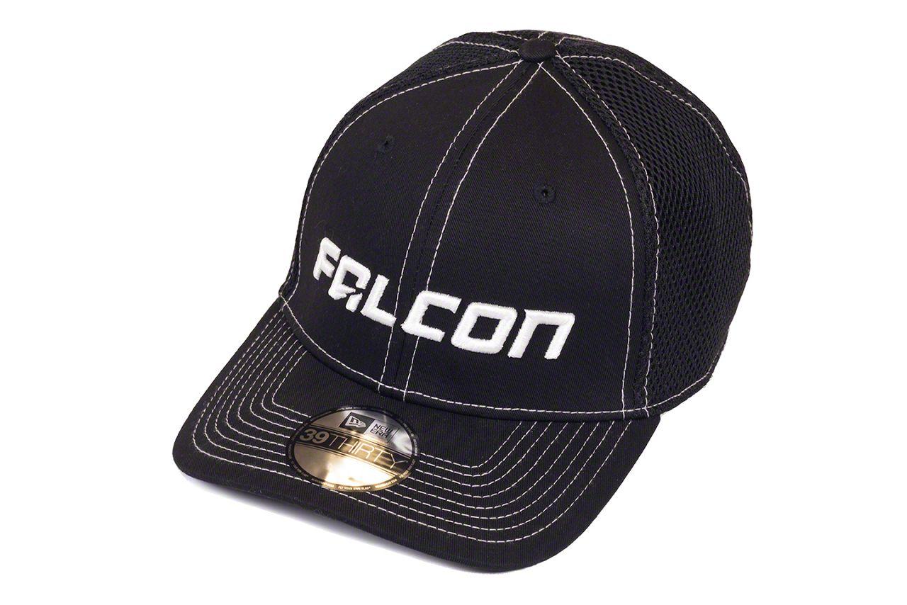 Teraflex Falcon Premium Contrast Stitch FlexFit Hat - Black