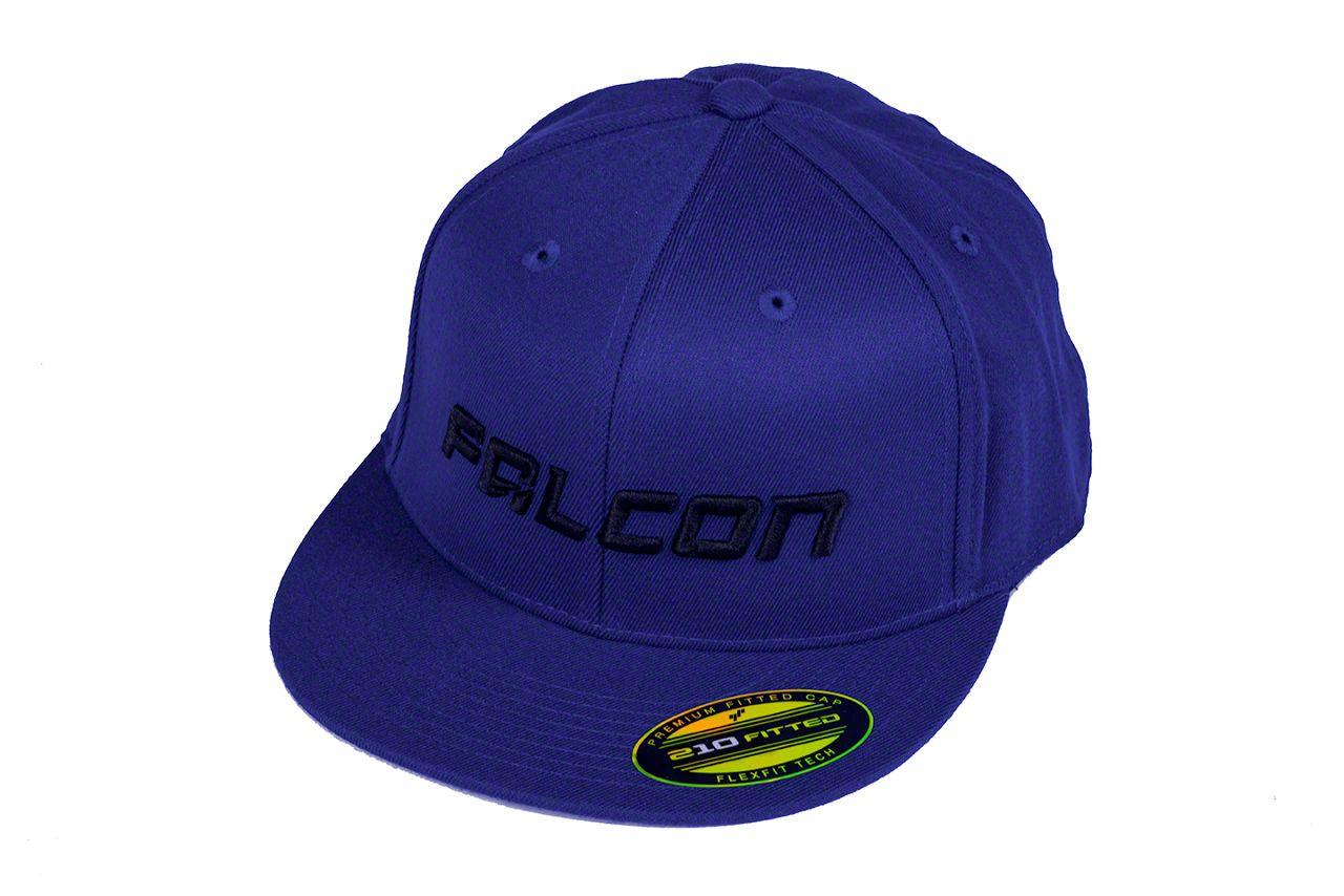 Teraflex Falcon Premium FlexFit Flat Visor Hat - Royal Blue