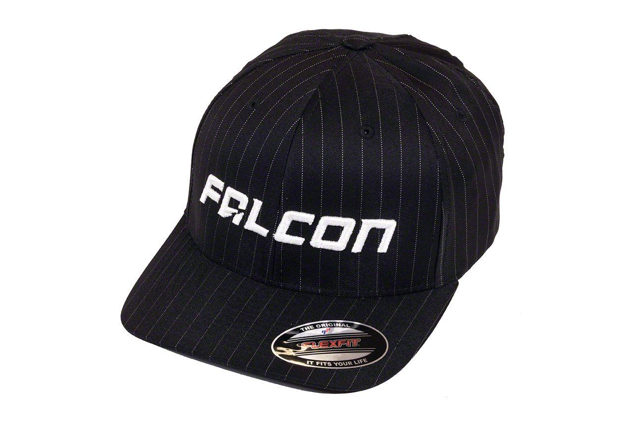 Teraflex Falcon Premium FlexFit Pinstripe Hat - Black