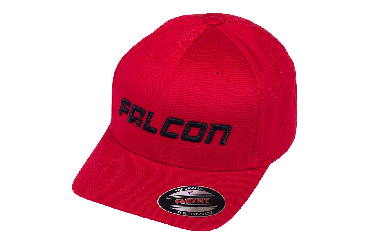Teraflex Falcon Premium FlexFit Hat - Red