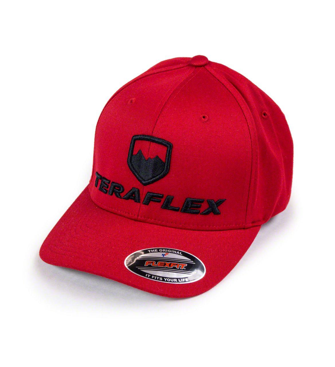 Teraflex Premium FlexFit Hat - Red