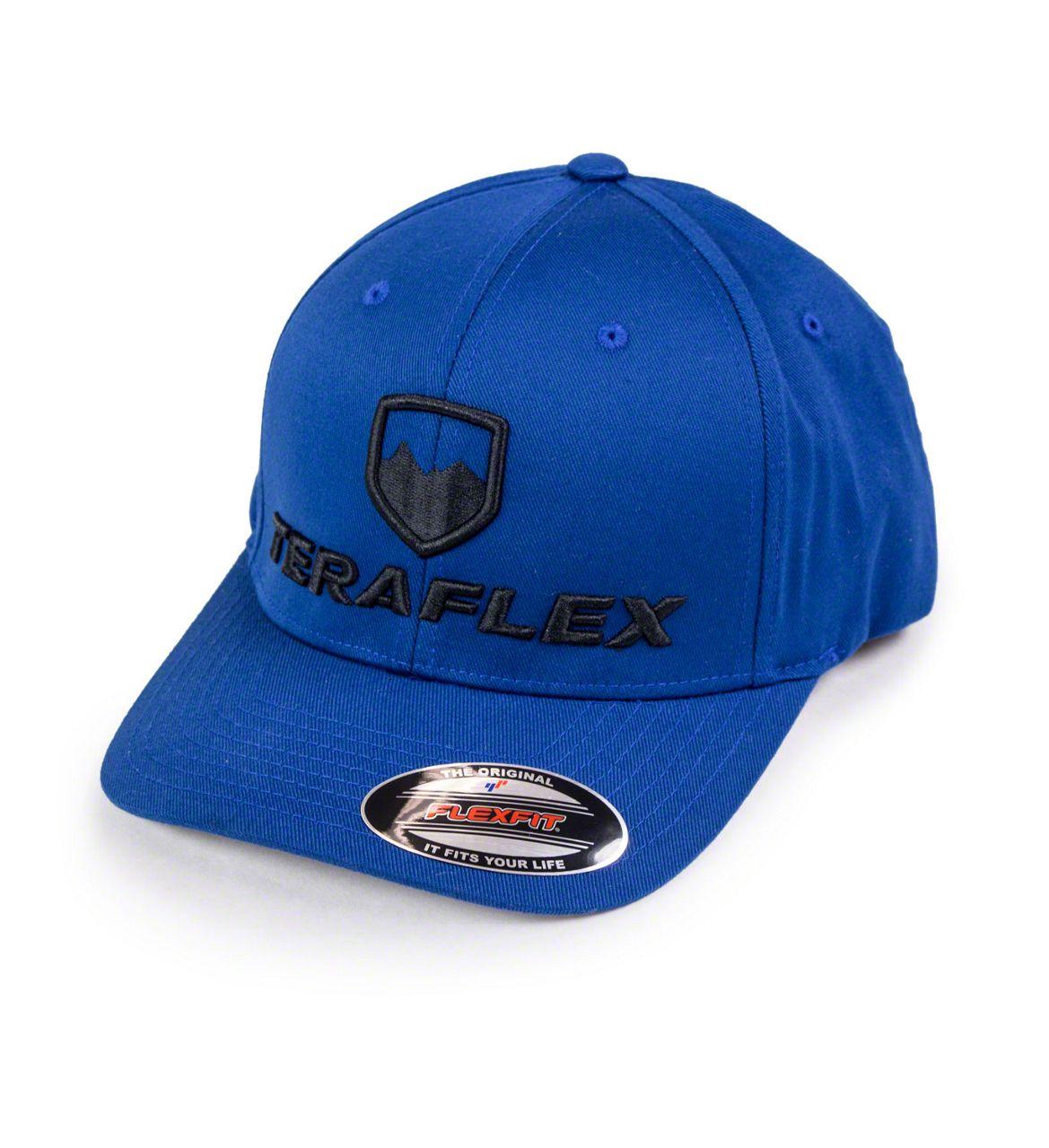 Teraflex Premium FlexFit Hat - Royal Blue