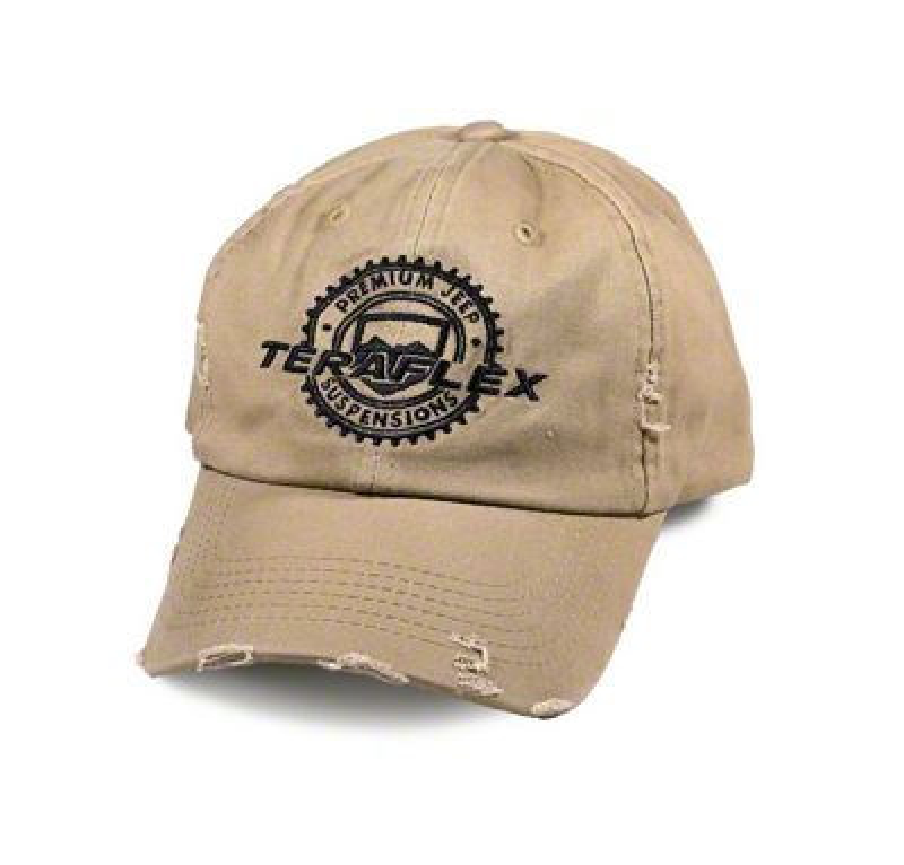 Teraflex Vintage Distressed Hat - Tan
