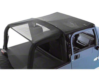 Rugged Ridge Mesh Roll Bar Top (92-95 Jeep Wrangler YJ)