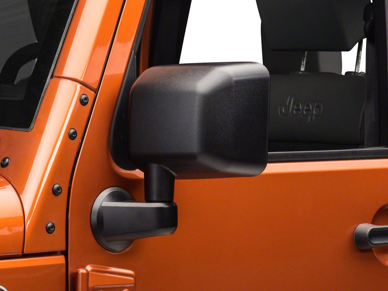 Omix-ADA Replacement OE Style Door Mirror - Driver Side (07-18 Jeep Wrangler JK)