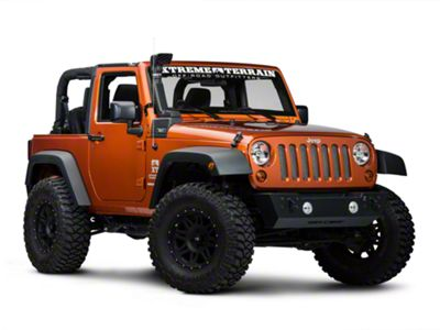 Rugged Ridge Modular XHD Low/High Mount Snorkel Kit (07-11 3.8L Jeep Wrangler JK)