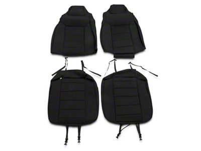 Rugged Ridge Neoprene Front Seat Covers - Black (03-06 Jeep Wrangler TJ)