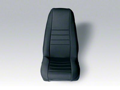 Rugged Ridge Neoprene Front Seat Covers - Black (91-95 Jeep Wrangler YJ)
