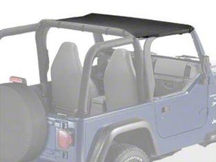 Bestop Targa Style Sun Bikini Top - Black Denim (97-02 Jeep Wrangler TJ)
