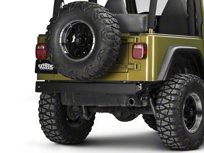 Omix-ADA OE Rear Bumper - Textured Black (97-06 Jeep Wrangler TJ)