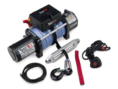 Rugged Ridge Performance 10,500 lb. Winch w/ Synthetic Rope (87-19 Jeep Wrangler YJ, TJ, JK & JL)