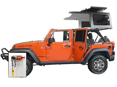 Lange Power Hoist-a-Top (07-18 Jeep Wrangler JK)